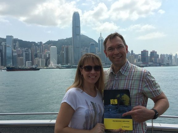 Bettina und Marcus Baer, Hongkong, China